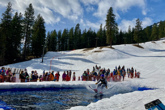 Pond Skim 2021. We went out with a bang!