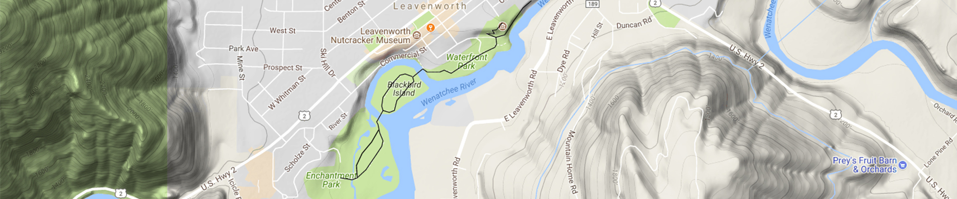 waterfront park map