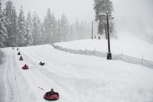 tubing at leavenworth ski hill